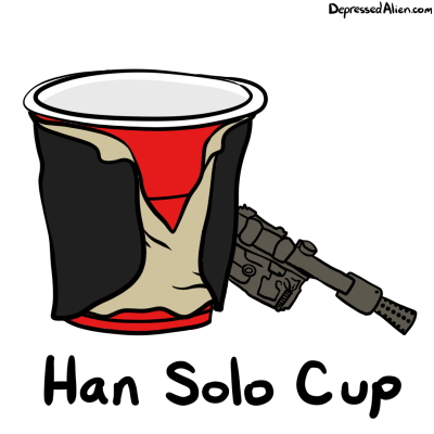Han took the first shot.